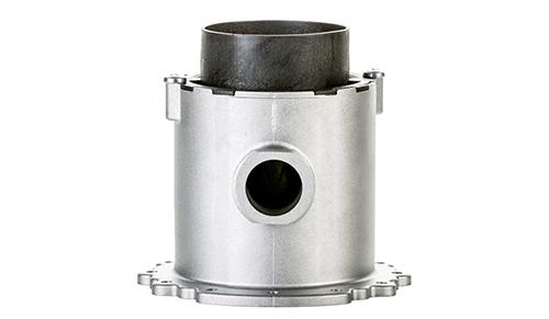 Mixer with pneumatic modulation 1:10