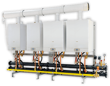 High power cascade boilers - Italtherm